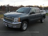 2012 Blue Granite Metallic Chevrolet Silverado 1500 LT Crew Cab #56789600