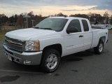 2012 Summit White Chevrolet Silverado 1500 LT Extended Cab 4x4 #56789598