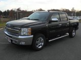 2012 Black Chevrolet Silverado 1500 LT Crew Cab #56789597