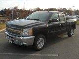 2012 Black Chevrolet Silverado 1500 LT Extended Cab #56789596