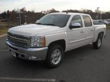 2012 White Diamond Tricoat Chevrolet Silverado 1500 LT Crew Cab #56789595