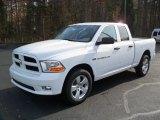 2012 Bright White Dodge Ram 1500 Express Quad Cab 4x4 #56789581