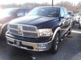 2012 Black Dodge Ram 1500 Laramie Crew Cab 4x4 #56789551
