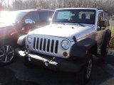 2012 Bright Silver Metallic Jeep Wrangler Sport 4x4 #56789548