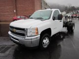 2012 Chevrolet Silverado 3500HD WT Regular Cab 4x4 Chassis Data, Info and Specs