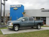 2012 Blue Granite Metallic Chevrolet Silverado 1500 LT Crew Cab #56828138