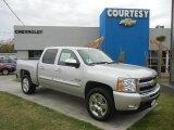 2011 Sheer Silver Metallic Chevrolet Silverado 1500 LT Crew Cab #56828135