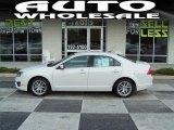 2010 White Platinum Tri-coat Metallic Ford Fusion SEL #56827854