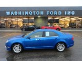 2011 Steel Blue Metallic Ford Fusion SEL V6 #56827843