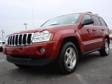 2006 Inferno Red Crystal Pearl Jeep Grand Cherokee Limited 4x4 #56827584