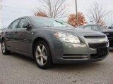 2008 Dark Gray Metallic Chevrolet Malibu LT Sedan #56827572