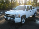 2011 Summit White Chevrolet Silverado 1500 LT Crew Cab 4x4 #56828012
