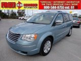 2010 Clearwater Blue Pearl Chrysler Town & Country Limited #56828005
