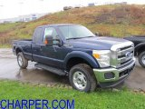 2012 Dark Blue Pearl Metallic Ford F250 Super Duty XLT SuperCab 4x4 #56827529