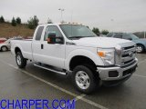 2012 Oxford White Ford F250 Super Duty XLT SuperCab 4x4 #56827528
