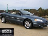 2002 Steel Blue Pearl Chrysler Sebring Limited Convertible #56827995