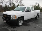 2012 Summit White Chevrolet Silverado 1500 Work Truck Extended Cab #56827988