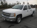 2012 Summit White Chevrolet Silverado 1500 LT Crew Cab #56827986