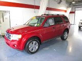 2009 Sangria Red Metallic Ford Escape XLT #56827503