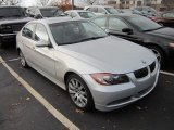 2006 Titanium Silver Metallic BMW 3 Series 330xi Sedan #56827478