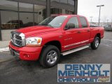 2006 Flame Red Dodge Ram 1500 Laramie Quad Cab 4x4 #56827942