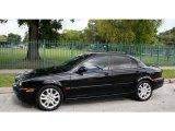 2002 Jaguar X-Type Ebony Black
