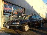 2001 Navy Blue Metallic Chevrolet Impala  #56874290