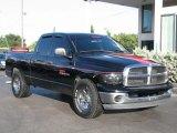 2003 Black Dodge Ram 1500 SLT Quad Cab #56874239