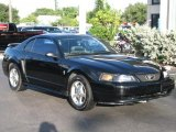 2001 Black Ford Mustang V6 Coupe #56874236