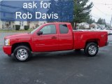 2011 Victory Red Chevrolet Silverado 1500 LT Extended Cab 4x4 #56873648