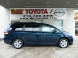 2012 South Pacific Pearl Toyota Sienna LE #56873636