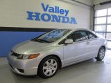 2006 Galaxy Gray Metallic Honda Civic LX Coupe #56873601