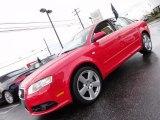 2008 Brilliant Red Audi A4 3.2 Quattro S-Line Sedan #56873584