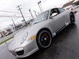 2012 Platinum Silver Metallic Porsche 911 Carrera 4 GTS Coupe #56873581
