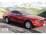 2005 Redfire Metallic Ford Mustang V6 Deluxe Coupe #56873566