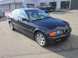 2001 Orient Blue Metallic BMW 3 Series 325i Sedan #56873551