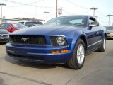 2006 Vista Blue Metallic Ford Mustang V6 Deluxe Coupe #56873799