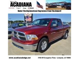 2011 Deep Cherry Red Crystal Pearl Dodge Ram 1500 SLT Quad Cab #56925102