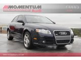 2008 Deep Sea Blue Pearl Effect Audi A4 2.0T S-Line Sedan #56925195
