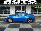 2009 Monterey Blue Nissan 370Z Touring Coupe #56925124
