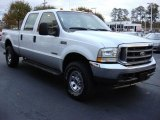 2004 Oxford White Ford F250 Super Duty FX4 Crew Cab 4x4 #56925185