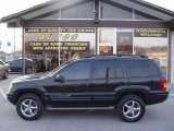 2002 Black Jeep Grand Cherokee Overland 4x4 #5687494