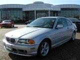 2000 Titanium Silver Metallic BMW 3 Series 328i Coupe #5691050
