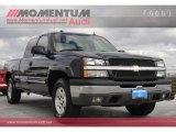 2004 Black Chevrolet Silverado 1500 Z71 Extended Cab 4x4 #56935588