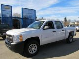 2012 Summit White Chevrolet Silverado 1500 Work Truck Crew Cab 4x4 #56935136