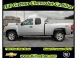 2012 Silver Ice Metallic Chevrolet Silverado 1500 LT Extended Cab 4x4 #56935571