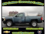 2012 Blue Granite Metallic Chevrolet Silverado 1500 Work Truck Regular Cab 4x4 #56935570