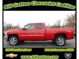 2012 Victory Red Chevrolet Silverado 1500 LT Extended Cab 4x4 #56935568