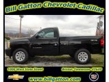 2012 Black Chevrolet Silverado 1500 Work Truck Regular Cab 4x4 #56935567