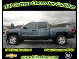 2012 Blue Granite Metallic Chevrolet Silverado 1500 LT Crew Cab 4x4 #56935562